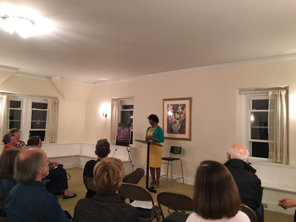 At our Book of the Year event, Betty Livingston Adams brought to life powerful stories of local women who fought for social justice in her important work: Black Women's Christian Activism