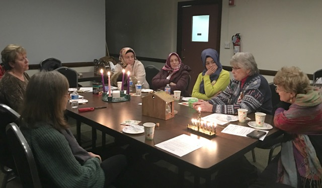 Daughters of Abraham, an interfaith women's support group, share sacred traditions